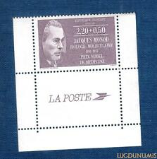 N°2459 - TIMBRE NEUF Jacques Monod France 1987