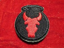 34th Infantry Division patch w/ original store tag  Premium Quality Red Bull