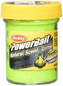 Berkley PowerBait Natural Scent Glitter Trout Dough Bait Fishing Lure Bait