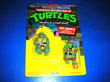 Vintage TMNT Ninja Turtles Magnets Unpunched NIP MOC Sealed New Leonardo Raphael