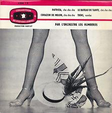 LOS RUMBEROS PATRICIA FRENCH ORIG EP