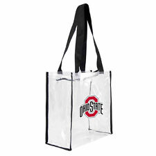 OHIO STATE BUCKEYES UNIVERSITY NCAA CLEAR STADIUM TOTE BAG, NEW WITH TAGS