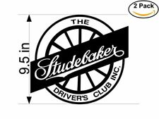 Studebaker 2 Stickers 9.5 inches Sticker Decal
