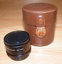 Sears Auto 2X Converter (199.73421) Camera Lens w/ Lens Cap & Case - Japan