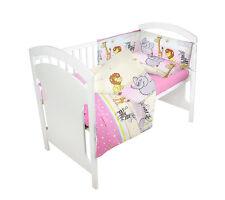 Juego de Ropa Cama para Bebé 135x100 2 3 4 5 6 Pcs Compatible Cuna Nuevo Modelos