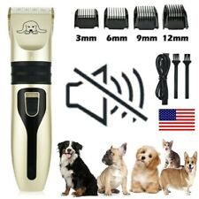 Pet Dog Cat Grooming Clippers Hair Trimmer Shaver quiet cordless Dog clippers