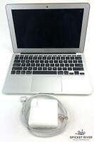 "Apple MacBook Air A1465 2013 11"" 1.30GHz i5-4250U 128GB SSD 4GB RAM - No Battery"