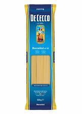 5x Pasta De Cecco 100% Italienisch Bucatini n. 15 Nudeln 500g