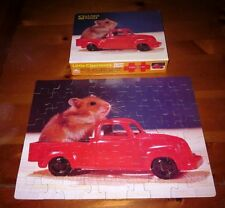 LITTLE CHARMERS Western jigsaw puzzle 1985 pick-up truck Hamster Mobile cute