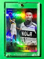 Zion Williamson ROOKIE PANINI CHRONICLES ESSENTIALS REFRACTOR FINISH RC - Mint!