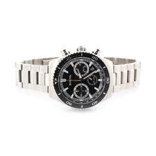 Bulova Men's Stainless Steel Silver Quartz Chronograph Wrist Watch 98B298