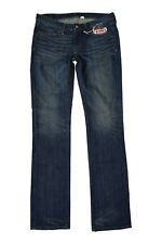 *EVISU* PRIVATE STOCK FOR MANIACS WOMEN'S STRAIGHT LEG MIHARA JEANS (W29 L34)