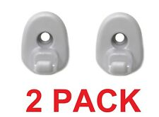 05-12 Jeep Liberty & 08-12 Dodge Nitro Sun Visor Clip Replacement Retainer 2PACK