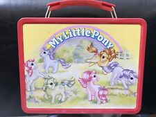 My Little Pony Mecca Lunchbox Metal G1 Retro Vintage 2003 Rare With Thermos!