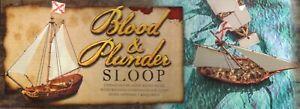 Firelock Games Blood & Plunder: (Ship) Sloop (plastic resin)