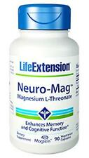 LIFE EXTENSION Neuro-Mag™ Magnesium L-Threonate  90 vcap  NEW- SEALED