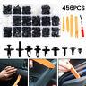 456X Cuerpo Plástico Coche Recortar Clips Retenedor Remache Panel sujetador Clip