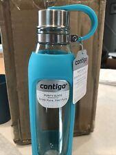 New listing contigo Scuba purity glass water bottle New! Aqua