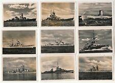 12 x Foto - Marine Schlachtschiffe u. U-Boot - 2.WK