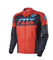 Fox Mountain Bike Livewire Race Mako Long Sleeve Jersey Black Camo Size Xl