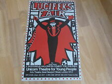 LUCITERS Fair  Halloween Comedy for Young People UNICORN Theatre Original Poster