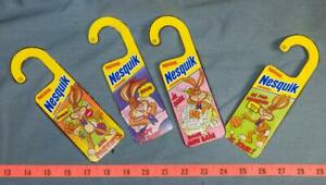 Lot of France Nesquick Cereals Door Hangers Souvenirs dq