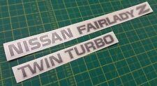 Nissan Fairlady Z Twin Turbo JDM rear hatch decals stickers 300ZX Z32 TT