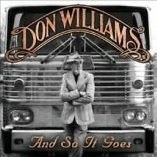 and so It Goes 0015891408125 by Don Williams CD