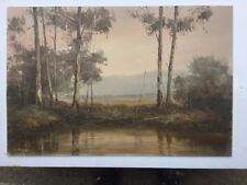 Wim Kortland 1984 Yarra Valley Oil Painting