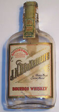 1915 antique whiskey bottle vtg J N Blakemore Kentucky Bourbon 1/2 pint EMPTY