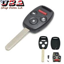 Replacement Remote Control Key Fob For 2003 2012 Honda Accord 2009 2015 Pilot Fits Honda