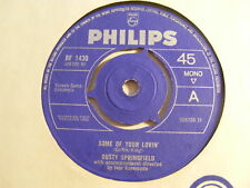 """DUSTY SPRINGFIELD Some Of Your Lovin' Ex Philips 1965 UK 7"""""""