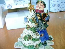 Blue Sky Clayworks Caroler Victorian Male New In Box 2001 Female Available