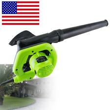 Usa Electric Handheld Super Leaf Blowers with Vacuum Shredder Home Garden 110V