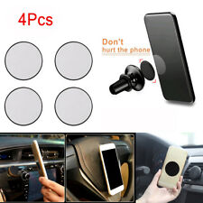 4X Replacement Metal Adhesive Plate Magnet Stickers For Phone GPS Car Holder