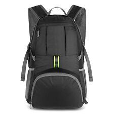 Travel Backpack 35L Flight Approved Carry on Backpack, Water Resistant, Black AU