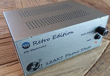 Retro Phono Stage - All tube Phono Preamp with feedback RIAA EQ