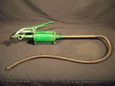 Vintage REX barrel pump. Sinclair Green. Works! Hartford Conn. Made in USA