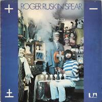 ROGER RUSKIN SPEAR ELECTRIC SHOCKS LP BONZO DOG BAND UK 1972 EXC PRO CLEANED