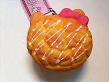 Jumbo Hello Kitty Squishy Charm Cream Puff Plain with Vanilla Filling