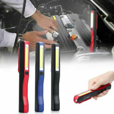 Usb Led Cob Work Light Inspection Lamp Rechargeable Camping Hand Torch Magnetic