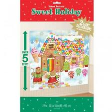 Christmas Gingerbread House Sweet Holiday Giant Scene Setter Decoration