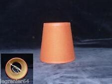Abat jour tissu, applique, lustre, lampe électrique 101 mm à clip N°008