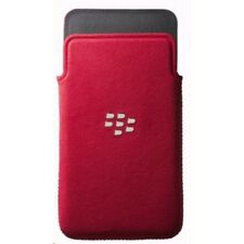 BlackBerry Custodia originale a fondina in Microfibra Rossa per Z10