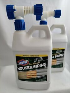 NEW Clorox House & Siding Cleaner Pro Results 64 fl oz Outdoor Wood Stucco Vinyl