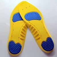 Gel Relief Foot Plantar Fasciitis Pain Heel Inserts Running Shoe Insole Insert