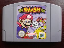 Super Smash Bros Nintendo 64 Mario Cartridge N64 PAL Multiplayer Video Game Card