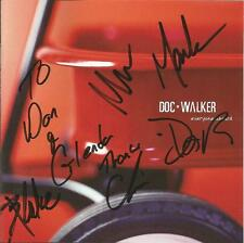 DOC WALKER Everyone Aboard CD 2003 Open Road Records Signed Autographed