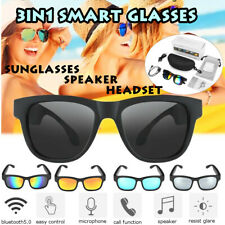 Polarized Smart Glasses Sunglasses bluetooth Speaker Earphone Sport Driving
