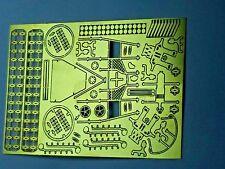 Photo Etch Brass 1/72nd scale WWI Airplane details Meikraft Models Spad xIII &SC